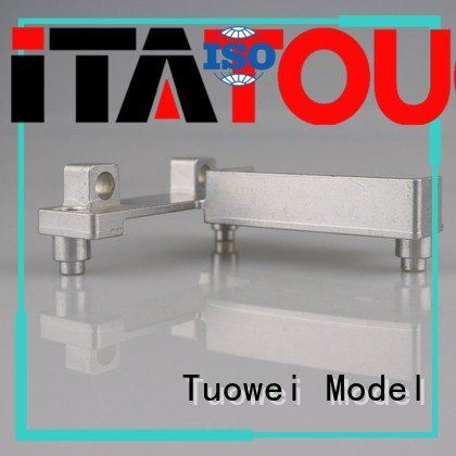 Tuowei testing cnc aluminum machining,sheet metal prototyping mockup