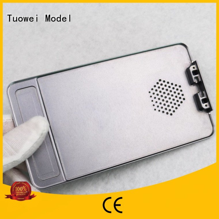 Tuowei testing aluminum sheet metal remotecontrolled for plastic