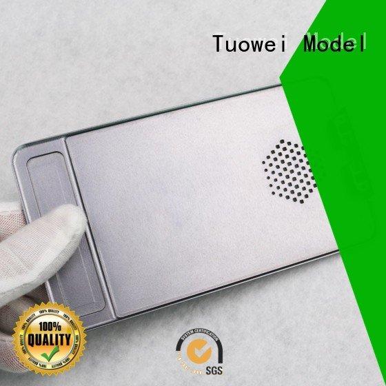 Tuowei medical rapid aluminum prototype housing for metal