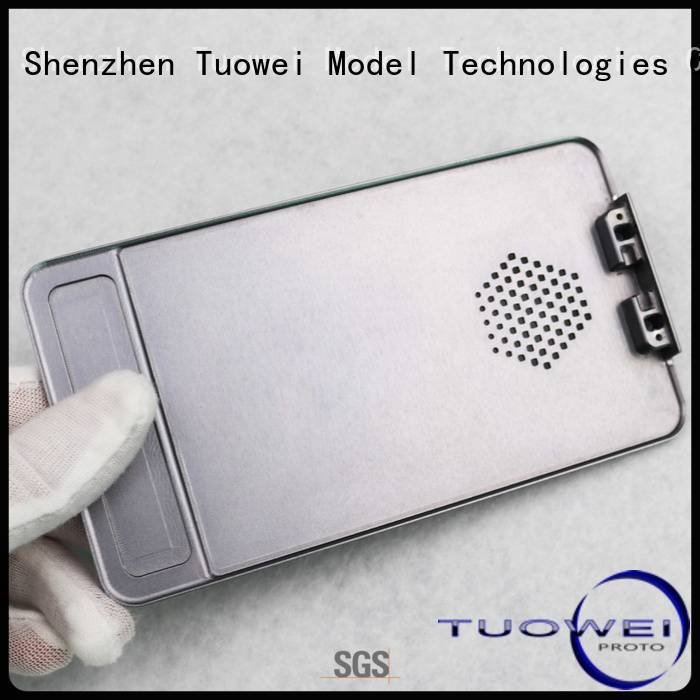 small batch machining precision parts prototype cavity medical devices parts prototype Tuowei