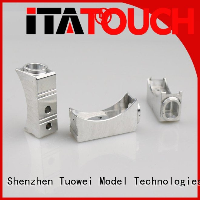sand casting aluminum prototype phone for metal Tuowei