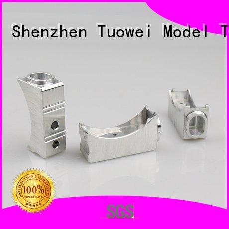 components small batch machining precision parts prototype Tuowei Brand