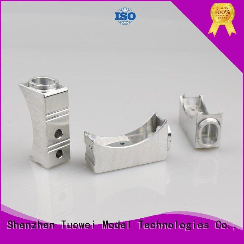 Tuowei rapid sand casting aluminum prototype design for industry