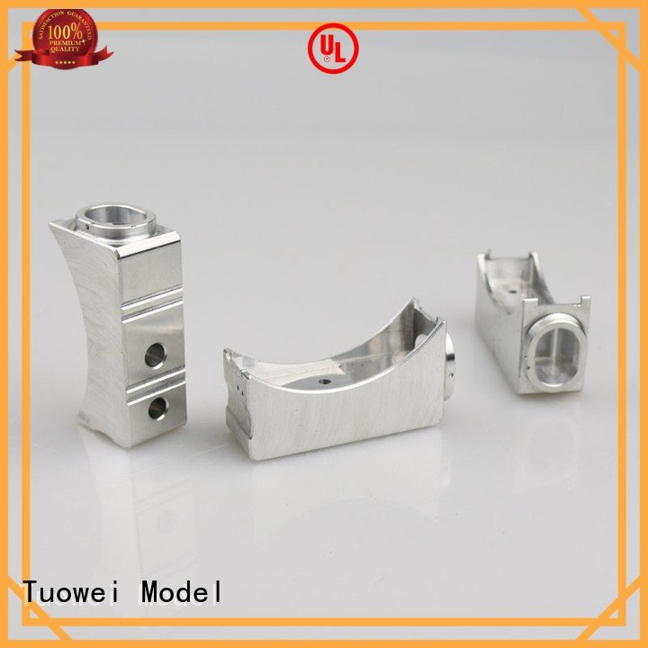 shell cnc aluminum prototype factory housing for plastic Tuowei