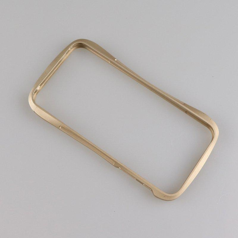Aluminum alloy rapid prototype mobile phone frame parts