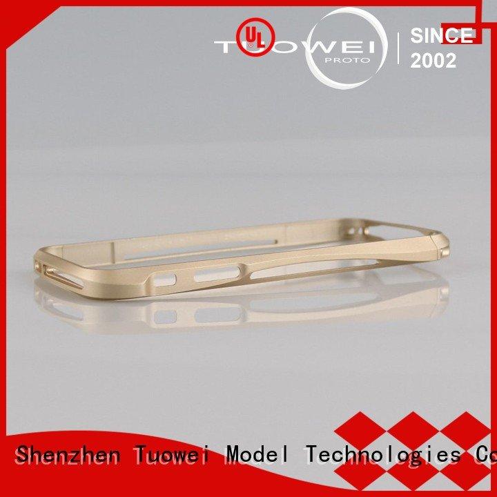 precision aluminum parts prototype milling for plastic Tuowei