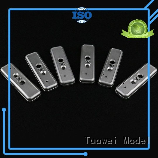 Tuowei testing complex metal machining parts prototype precision for metal