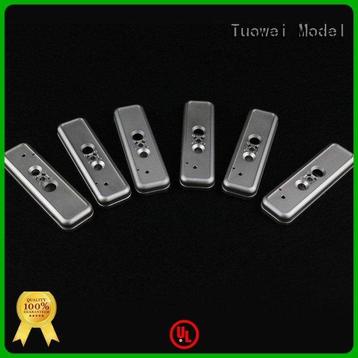 aluminum alloy box prototype complex for metal Tuowei