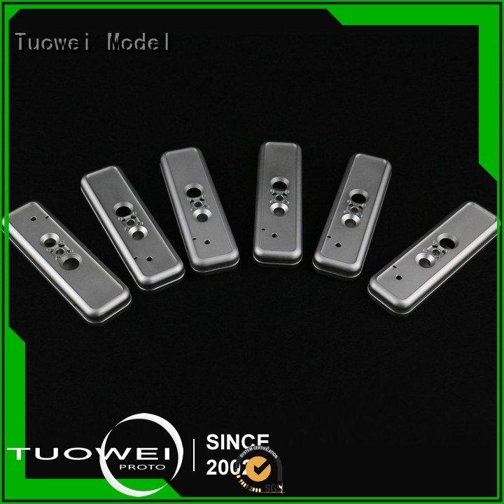 Tuowei data cnc milling aluminum parts prototype design