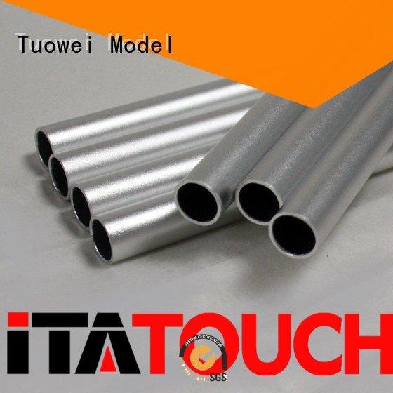 Tuowei rapid shell prototype communication for aluminum