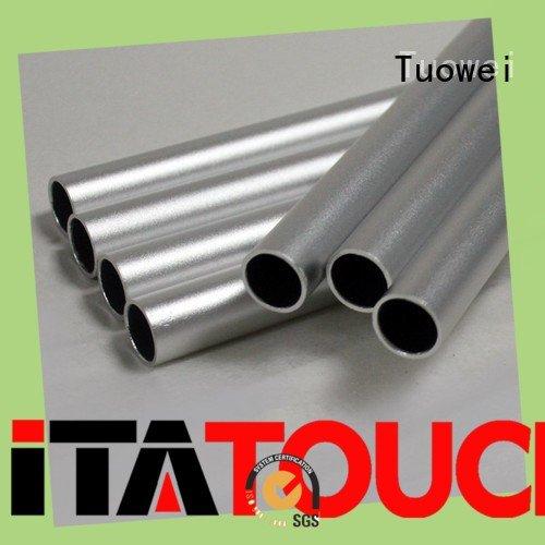 Tuowei testing aluminum alloy cnc rapid prototype design
