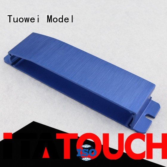 Tuowei prototyping cnc prototyping aluminium service customized for metal