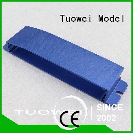 Tuowei rapid aluminum alloy cnc rapid prototype supplier