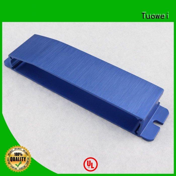 milling aluminum alloy rapid prototype mockup for aluminum Tuowei