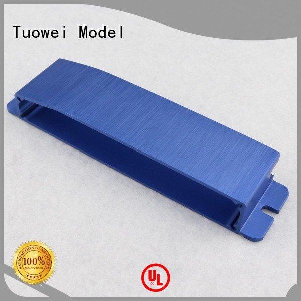 Tuowei medical aluminum cnc prototype supplier for plastic