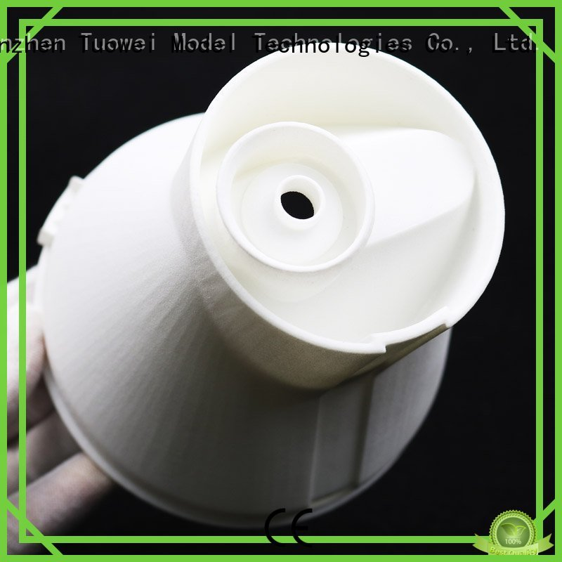 Tuowei steam sla rapid prototype supplier for plastic