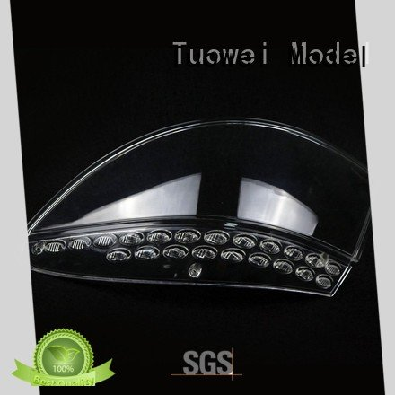 Tuowei rapid pmma/acrylic rapid prototyping car for industry