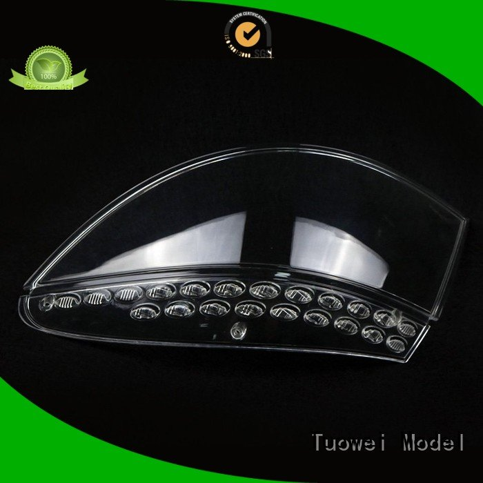 Tuowei architecture prototype large plastic parts design for metal