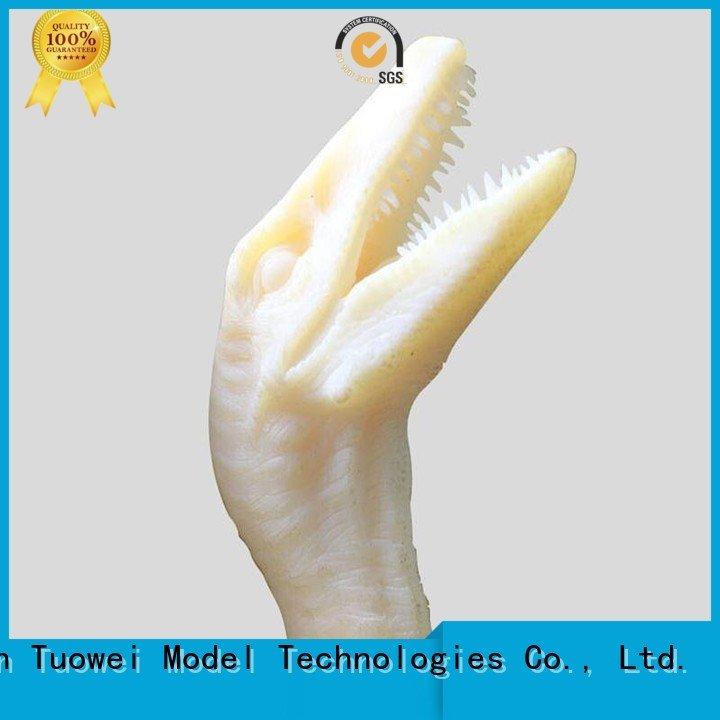 Tuowei turbine electrical motor prototype design for aluminum