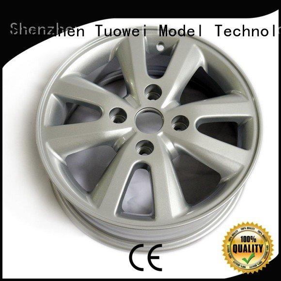 Tuowei medical aluminum alloy machined parts factory mobile for aluminum