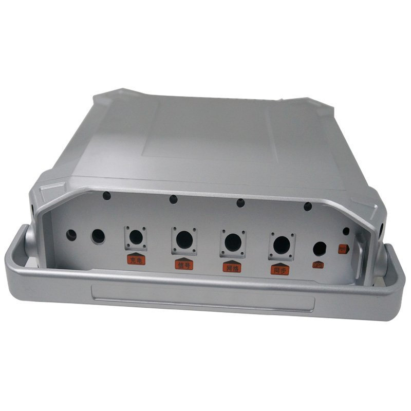 Aluminum data converter rapid prototype