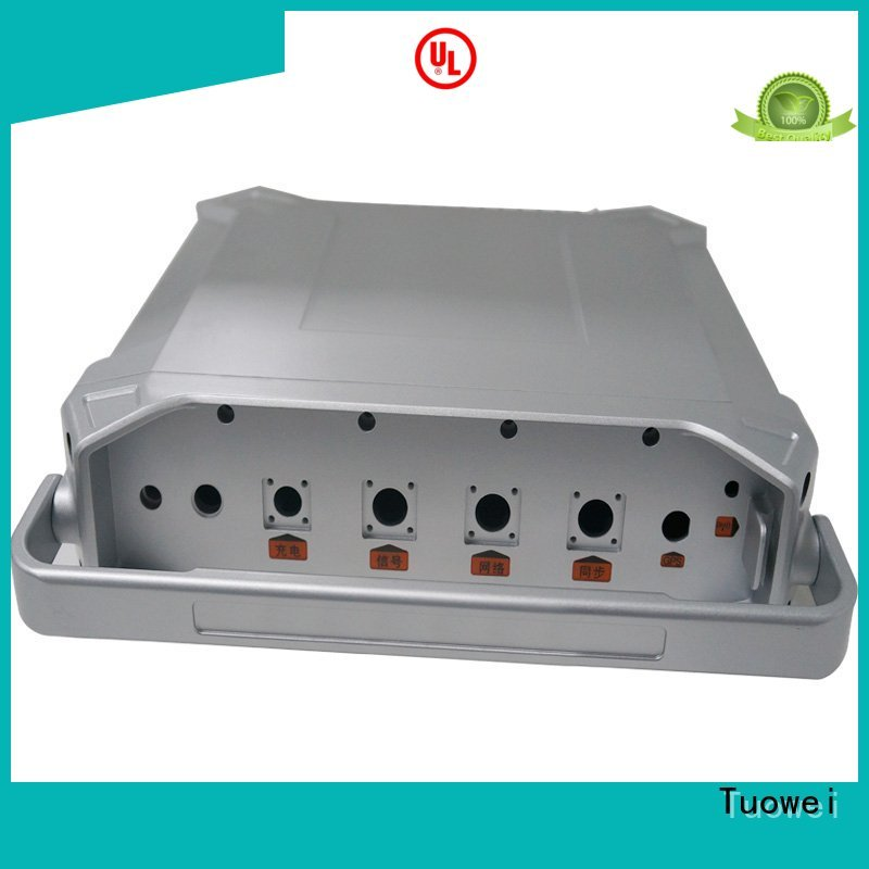 Tuowei machining aluminum rapid prototype supplier customized for metal