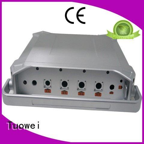 precision small batch machining precision parts prototype components Tuowei