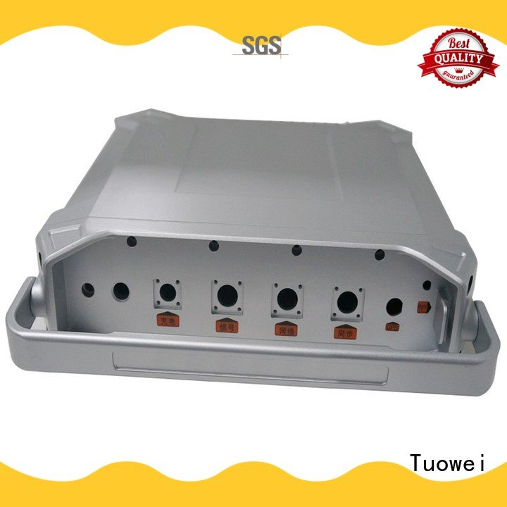 aluminum parts for testing equipments prototype alloy for plastic Tuowei