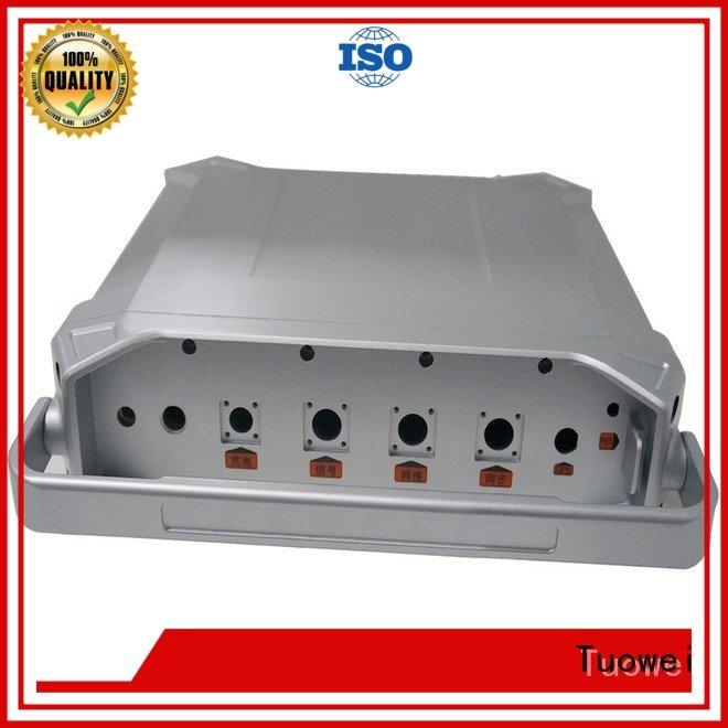rapid prototype casting aluminium parts for industry Tuowei