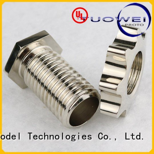 control tumbler medical devices parts prototype dredge Tuowei company