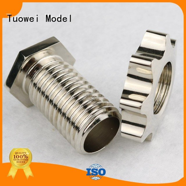 bigsize mouse small batch machining precision parts prototype aluminum Tuowei company