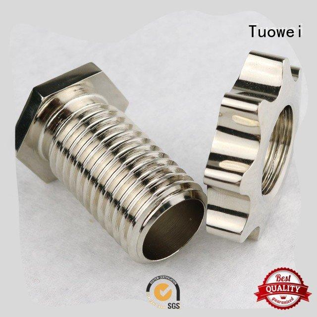 Tuowei lock rapid aluminum prototype factory mockup