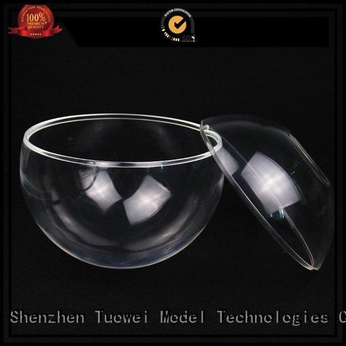 transparent pmma/acrylic rapid prototyping design for aluminum Tuowei