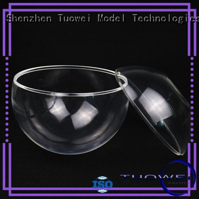 Tuowei light transparent pmma prototypes design