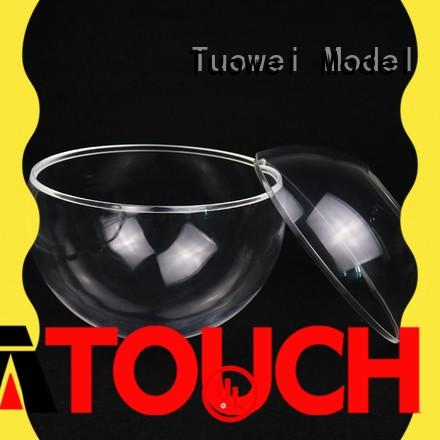 Tuowei rapid acrylic pmma prototypes manufacturers design for aluminum