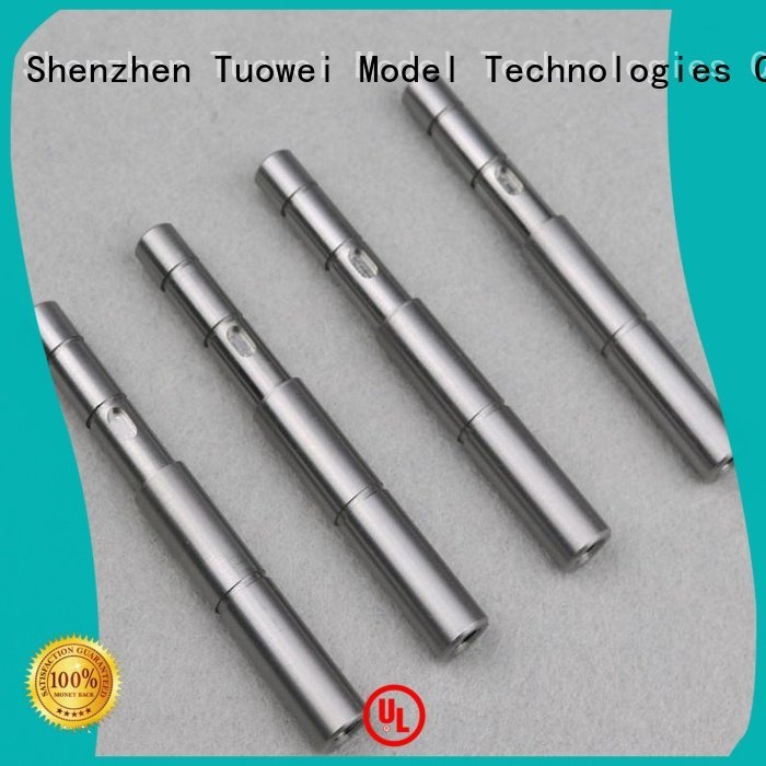 Equipment medical Tuowei cnc turning stainless steel parts prototype