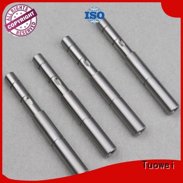 parts Aluminum bigsize Tuowei cnc turning stainless steel parts prototype