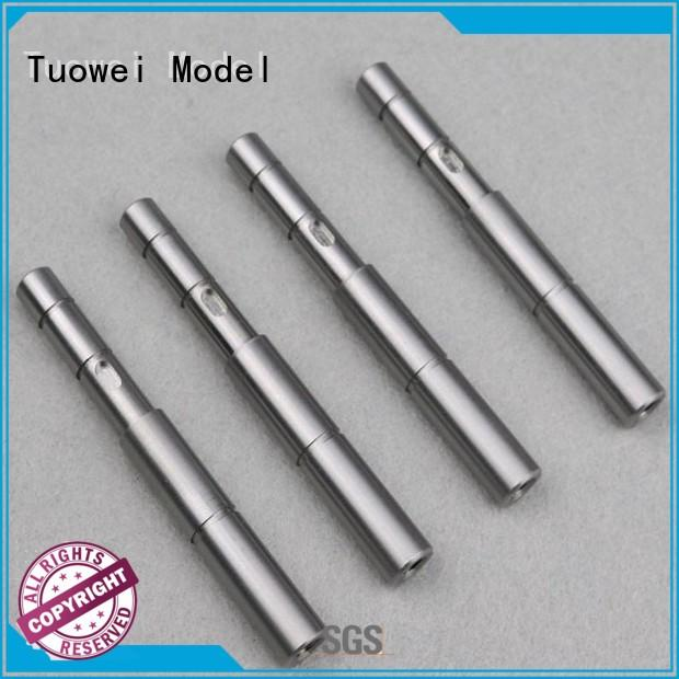 motor batch reader Tuowei Brand cnc turning stainless steel parts prototype