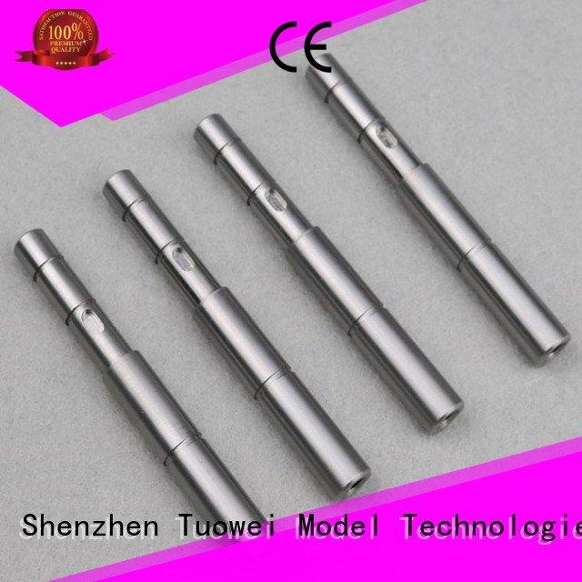 Tuowei equipment prototype steel parts manufacturer