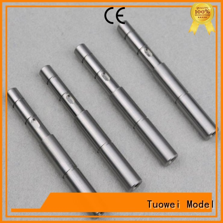 Tuowei rapid cnc turning stainless steel parts prototype stainless steel for plastic