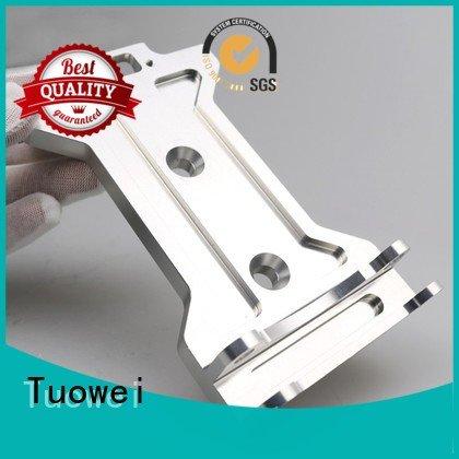 equipments sand casting aluminum prototype housing for plastic Tuowei