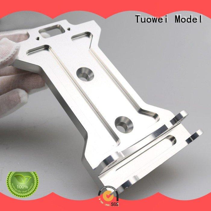 testing Quality CNC metal prototype design for plastic Tuowei