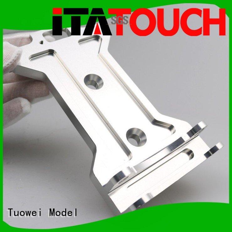 Tuowei devices cnc prototyping aluminium service supplier for aluminum