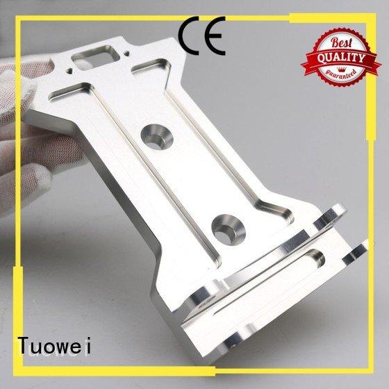 Tuowei rapid sand casting aluminum prototype factory
