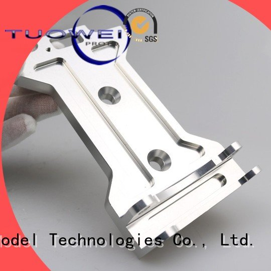 Tuowei rapid aluminum prototype castings complex for aluminum