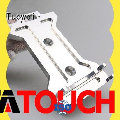 Tuowei medical aluminum alloy cnc rapid prototype customized