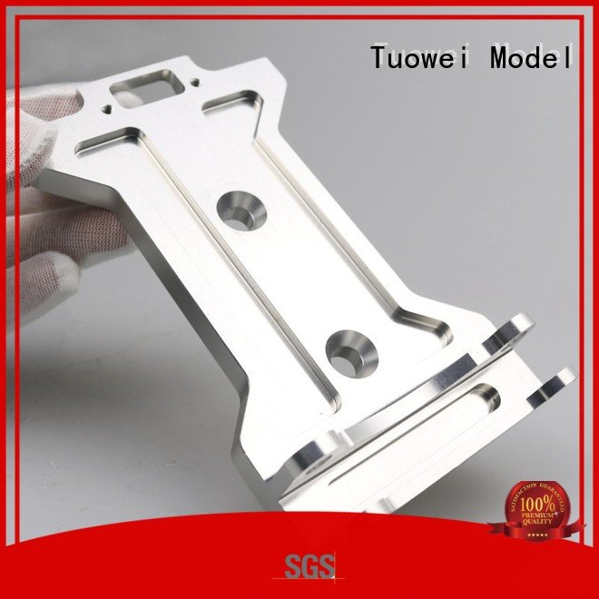 testing cnc prototyping aluminium service customized for aluminum Tuowei