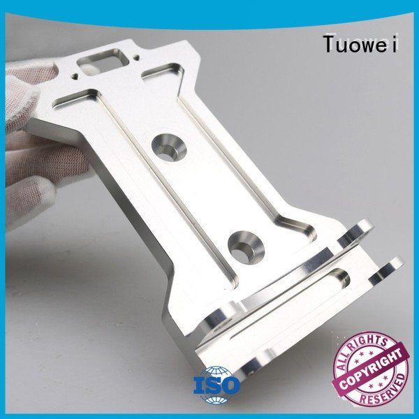 Tuowei metal aluminum alloy machined parts factory supplier for metal
