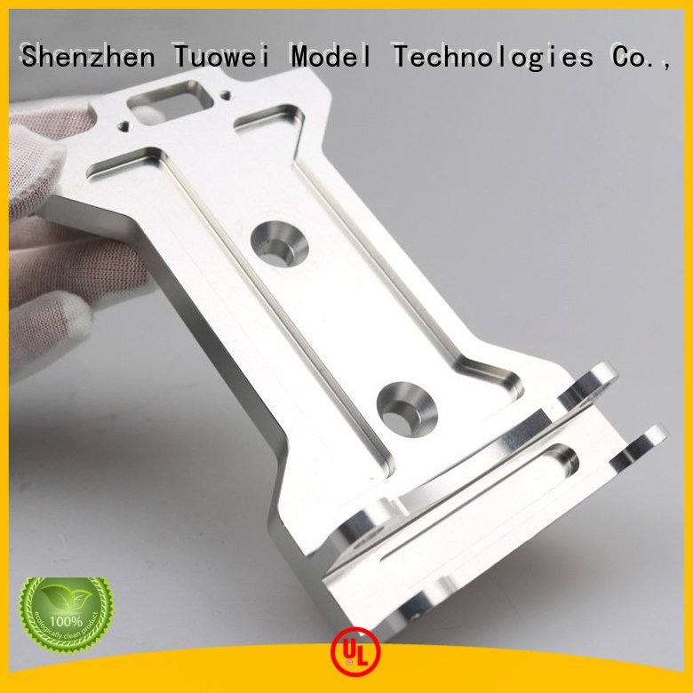 audio cnc machining aluminum prototype supplier for plastic Tuowei