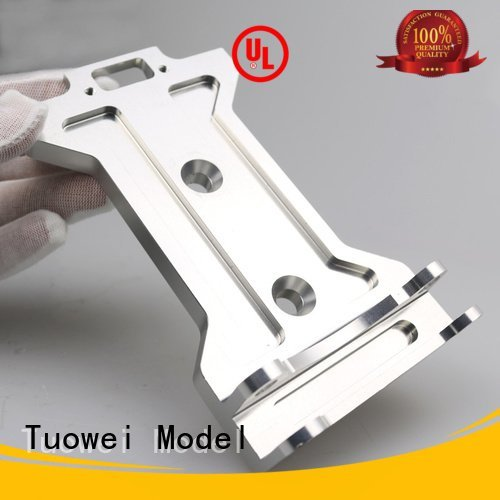 small batch machining precision parts prototype electronic frame cnc data Tuowei